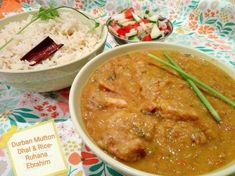Durban Mutton Dhal & Rice