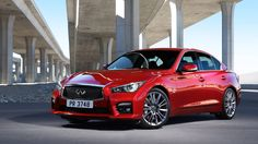 Infiniti adds a new engine family to its lineup -- starting with the Q50 sedan. #infiniti #sportsedan