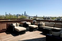 roof deck in Chicago...