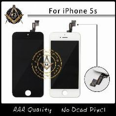 [ $21 OFF ] 10Pcs/lot Aaa Quality No Dead Pixel Lcd Assembly For Iphone 5S Replacement 100% Tested  Via Dhl