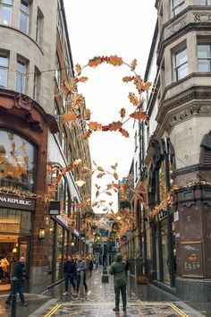 Christmas Lights in Covent Garden
