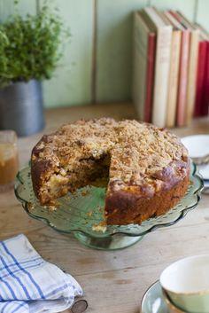 Irish Apple Crumble Cake | DonalSkehan.com