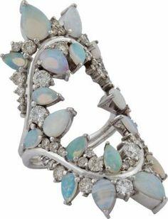 Fernando Jorge Electric Opals Shock Ring