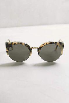 Super Lucia Tort Sunglasses - anthropologie.com