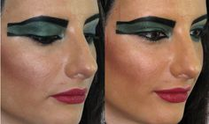 ancient egyptian make up | Ancient Egyptian Eye Makeup - tutorial for men and women