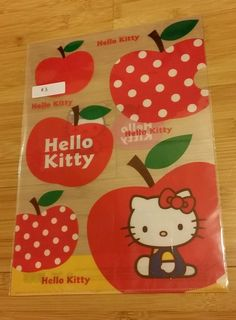1x NEW Hello Kitty Buzz Rilakkuma Cinnamoroll A4 F4 folder BOYS & GIRLS MULTI