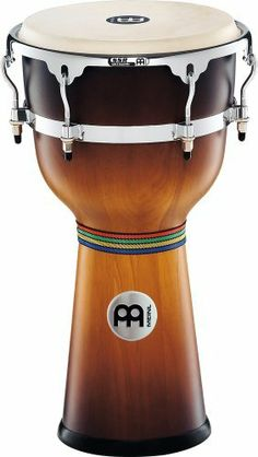 """Meinl Floatune Series 12""""  Wood Djembe - Gold Amber Sunburst by Meinl Percussion. $378.78. 12"""" Floatune Series  Wood Djembe"""