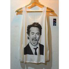 robert downey jr t-shirt <3
