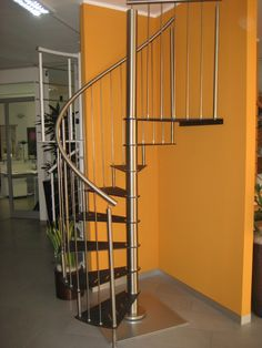 AZZURRI STEEL SPIRAL STAIRCASE offers something many other stairs do not, a laser thin tread with eye catching design.