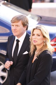 Queens & Princesses - King Willem Alexander, Queen Maxima, Princess Beatrix and Princess Laurentien attended a memoriaL ceremony in honor of Prince Kardam of Bulgaria, son of King Simeon of Bulgaria.