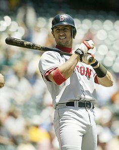 Nomar Garciaparra- The first man to ever steal my heart