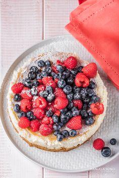 Cheesecake ai frutti rossi - Dolcezze di Valentina