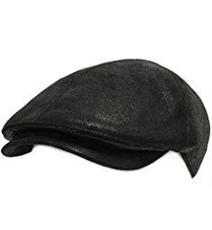 dfa84cc4c9d ililily New Men¡¯s Flat Cap Vintage Cabbie Hat Gatsby Ivy Caps Irish  Hunting Hats Newsboy with Stretch fit - 001-2