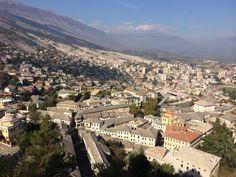 Gjirokaster ve městě Gjirokastra