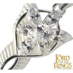 Herr der Ringe Abendstern Silber oder Gold