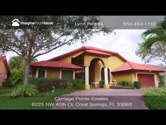 Carriage Pointe Estates Home for Sale at 8225 NW 40th Ct | Southeast Florida Real Estate