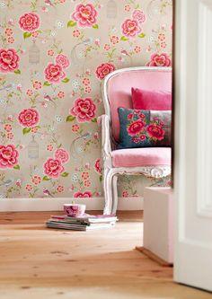 Изумительные обои PIP Studio – праздник красок и цвета - http://interiorizm.com/pip-studio-wallpapers