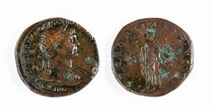 Trajan 98 to 117 CE, AE sestertius, 22.9 grams, Rome Mint, 103 to 111 CE. OBVERSE: IMP CAES NERVAE TRAIANO AVG GER DAC P M TR P COS V P P, laureate bust right, slight drapery on far shoulder. REVERSE: SPQR OPTIMO PRINCIPI, Spes walking left holding flower; S-C across fields.