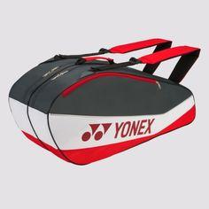 Yonex Badminton Bag, 6 Pack, Gym Bag, Brand New, Bags, Stuff To Buy, Grey, Kit, Tennis