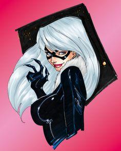 Black Cat, J Scott Campbell