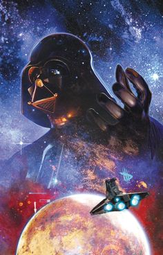 Darth Vader and the Ghost Prison #1. Art by Dave Wilkins.