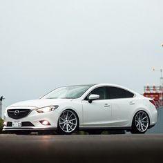 Mazda Atenza from @vossen_japan #atenza #autoaddicts #vossen