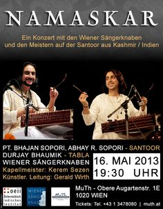 A unique encountering of cultures – on May 16 in Vienna: ————– Artists… Culture, Art Music, Vienna, Artists, Unique, Movie Posters, Events, Indian, Recital