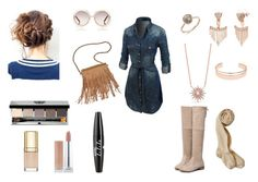 """""""walking into winter"""" by mercedesandhoss on Polyvore featuring LE3NO, Leith, Vince Camuto, Patchington, Chloé, Bobbi Brown Cosmetics, NYX and Dolce&Gabbana"""
