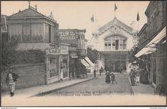 Dinard - La Rue et l'Entrée du Casino, Dinard, c.1920 - Neurdein Crété CPA ND830