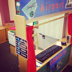 Connecting the Dots: A Kindergarten Blog...thanks to an amazing TA, we have an airport :)
