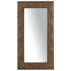 $299 Pier1 Carved Floor Mirror