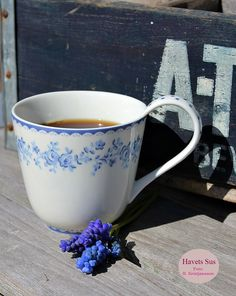 Greengate, Audrey Indigo, Danishdesign, coffee, my garden, perlehyacinter, Havets Sus, Denmark