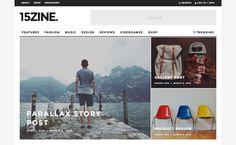 15zine HD Magazine & News WordPress Theme | Magazine Theme
