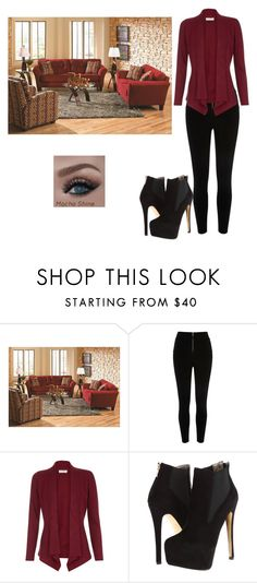 """""""Home"""" by shawnia-selinia-thomas ❤ liked on Polyvore featuring interior, interiors, interior design, home, home decor, interior decorating, River Island, Monsoon and Luichiny"""