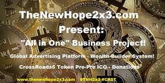 """Advertising Platform Since: 2017 """"All in One"""" Project: Advertising- Wealth Biulding- Pre-Pre ICO Campaign- Donation. Teamwork, Wealth, February, Presentation, Advertising, Join, Product Launch, Positivity, Optimism"""