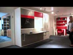 muebles multifuncionales para espacios reducidos - YouTube
