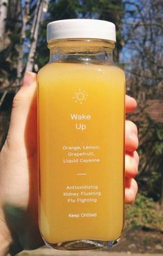 pin// jaimiejaimiedash     drink, yellow, and orange healthy juice aesthetic cute wake up