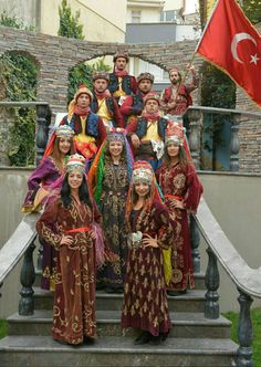 Traditional Turkish Costumes From  Aydin City