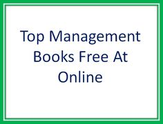 MBA Books - Mintbook is the best eBook store in India. We offer free management books online. Sign up now to read the MBA books.