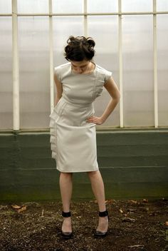 Retro sheath dress