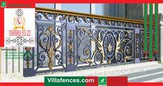 68+ Cửa cổng đẹp và những mẫu cửa cổng nhôm đúc dành cho villa, cửa cổng nhôm đúc sang trọng 2017