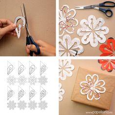 Existen muchas formas de hacer copos de nieve de papel, pero hoy vamos a aprender a hacerlos reciclando papel de revistas. Para recortar estos copos de nieve de papel he usado la técnica japonesa Kirigami, pero recortando el papel a la inversa que en los copos de nieve tradicionales, haciendo que los...