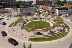 Water Cleansing Traffic Circle in Normal, Illinois | Inhabitat - Green Design, Innovation, Architecture, Green Building