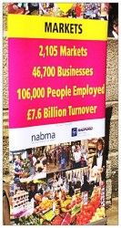 This banner at launch of #LYLM2014 @loveurlocalmkt shows just how important markets are #greatplaces @marketsmatter