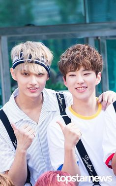 Seventeen || Jun and Hoshi