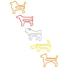 Dog Paper Clips. Seriously? Seriously. Words cannot measure how much I love the container store.