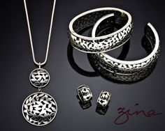 Sterling Silver jewelry by Zina