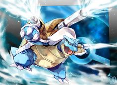 Pokemon : Mega Blastoise by Sa-Dui on DeviantArt Pokemon Fan Art, Mega Pokemon, Pokemon Pins, Nintendo Pokemon, Blastoise Pokemon, Pikachu, Charizard, Digimon, Pokemon Starters