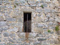 Window Harlech Castle Gwynedd Cymru UK SH 581 312 7/4/16
