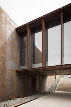 SOULAGES MUSEUM. RCR arquitectes, Passelac & Roques Architectes, KEVIN DOLMAIRE · SOULAGES MUSEUM